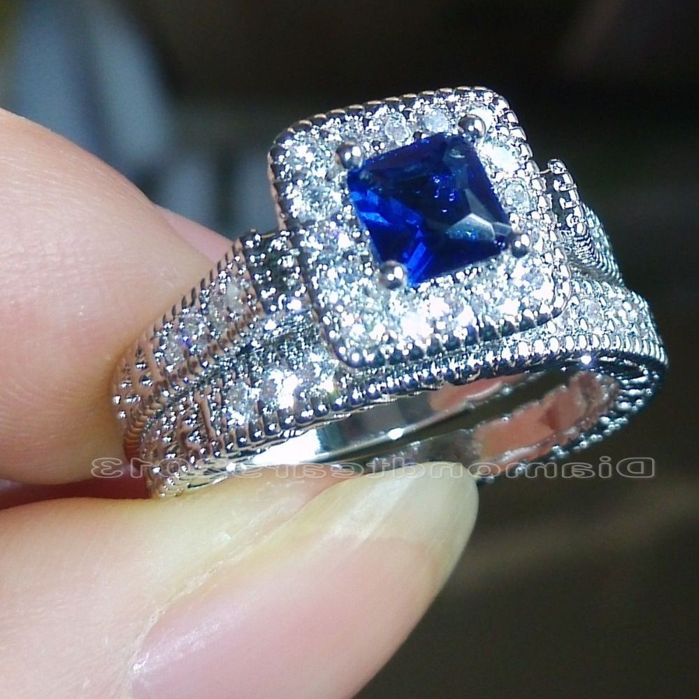 Click to Buy Size 6789 Fashion Jewelry 10kt white gold