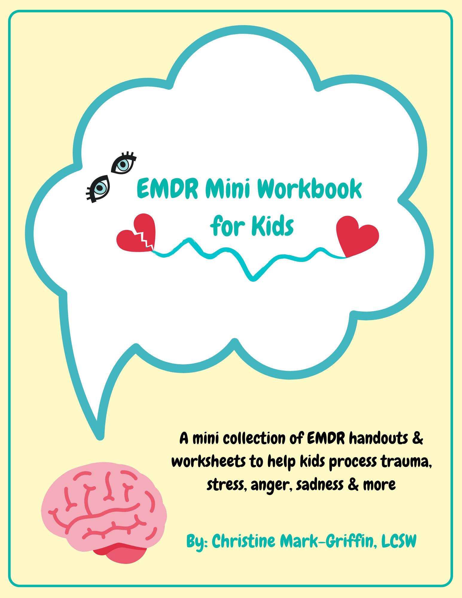 Emdr Mini Workbook For Kids In