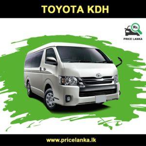 Toyota Kdh Van Price In Sri Lanka Pricelanka Lk In 2020 Vans Price Toyota Van For Sale