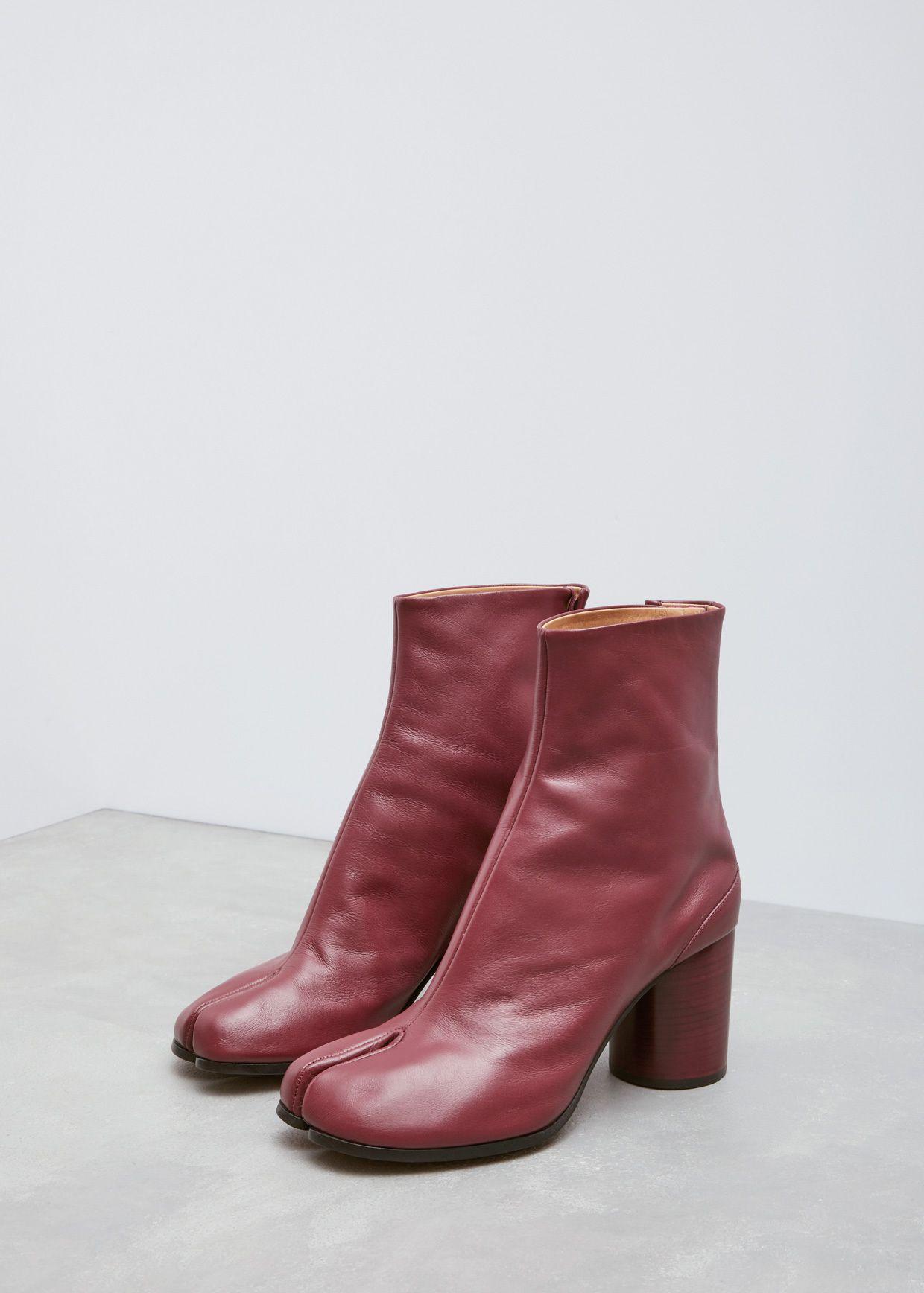 Tabi boots - Red Maison Martin Margiela Hdlib