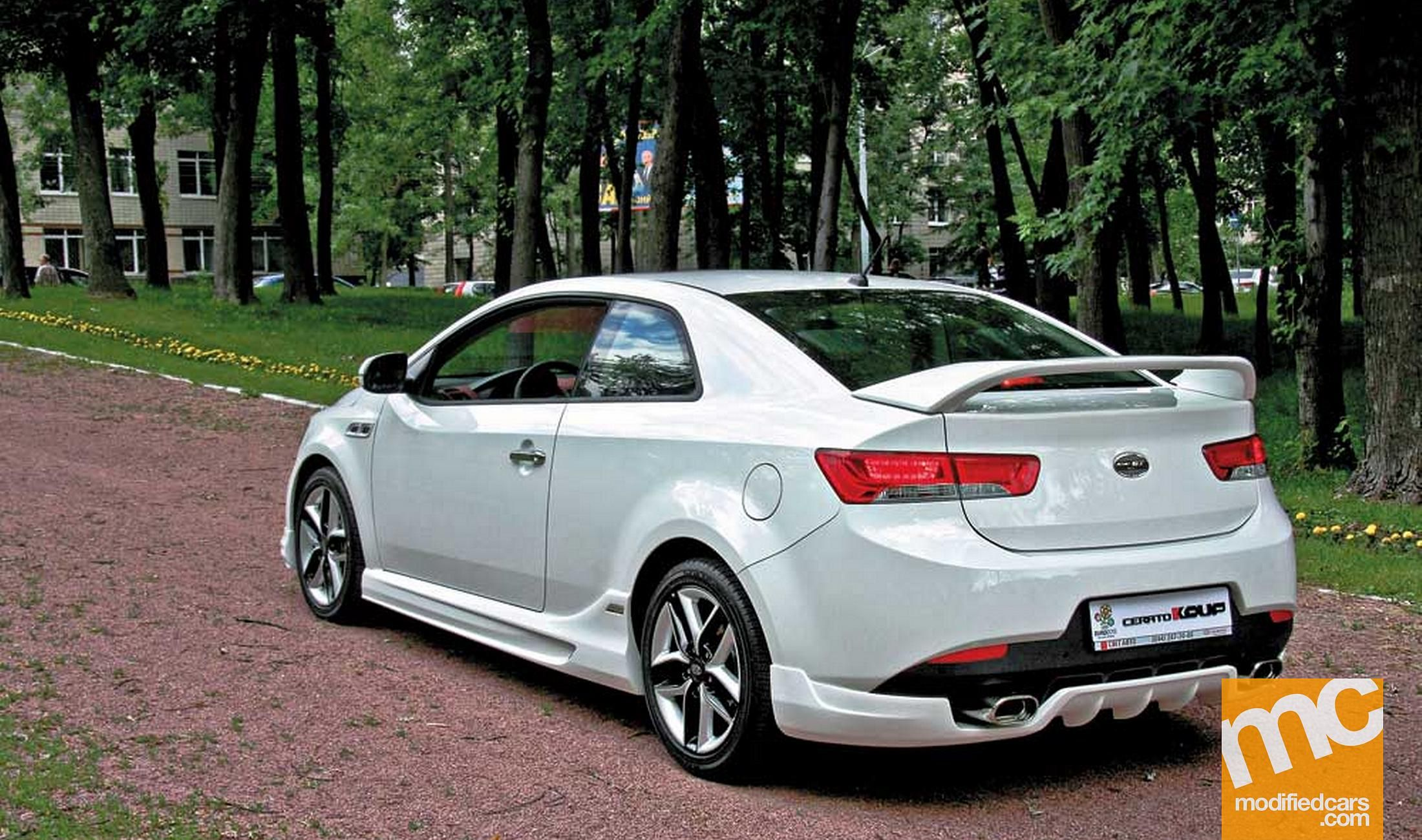 Modified kia kia cerato koup