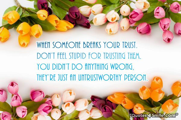 trusting wrong person quotes - Google Search