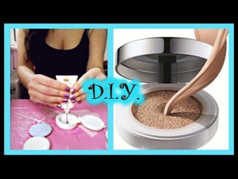 D I Y Make Your Own Air Cushion Foundation Using Your Favourite