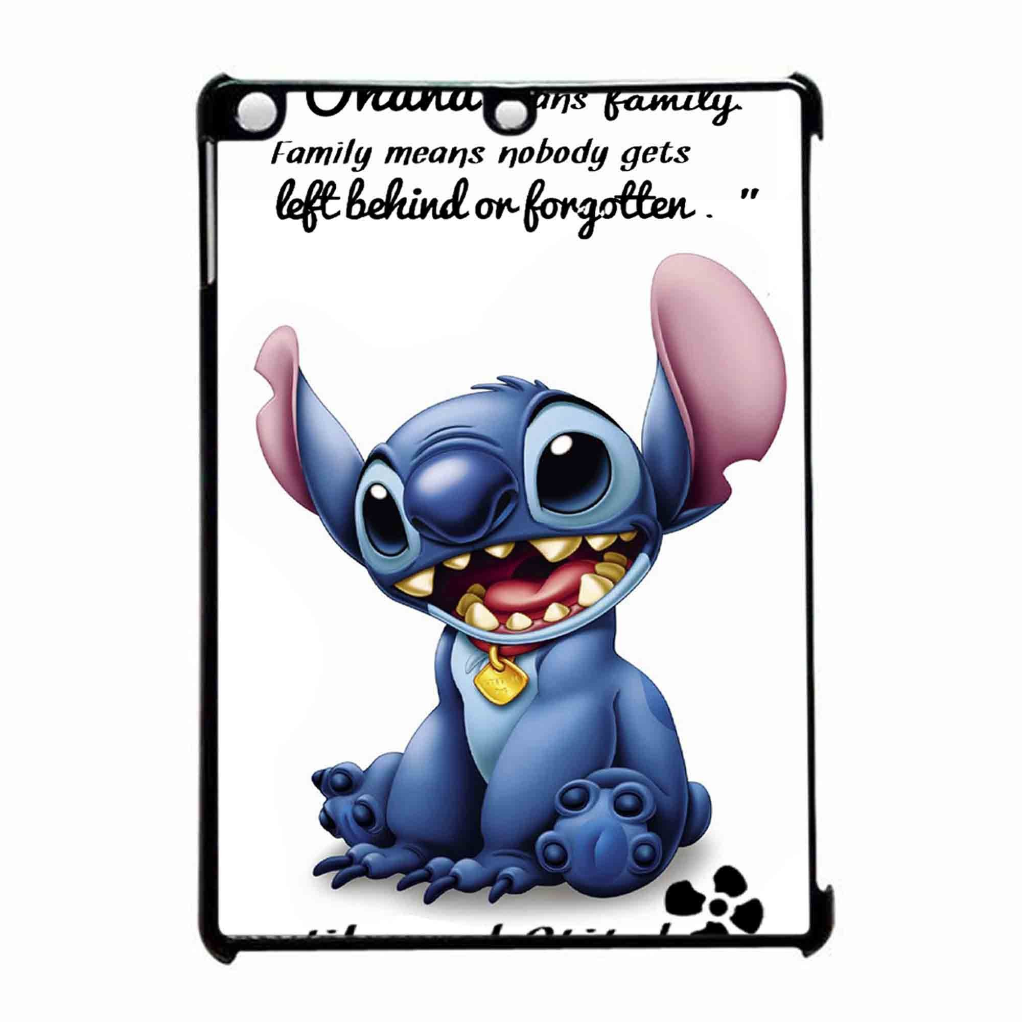 Lilo And Stitch Ohana Means Family Quote iPad Air Case