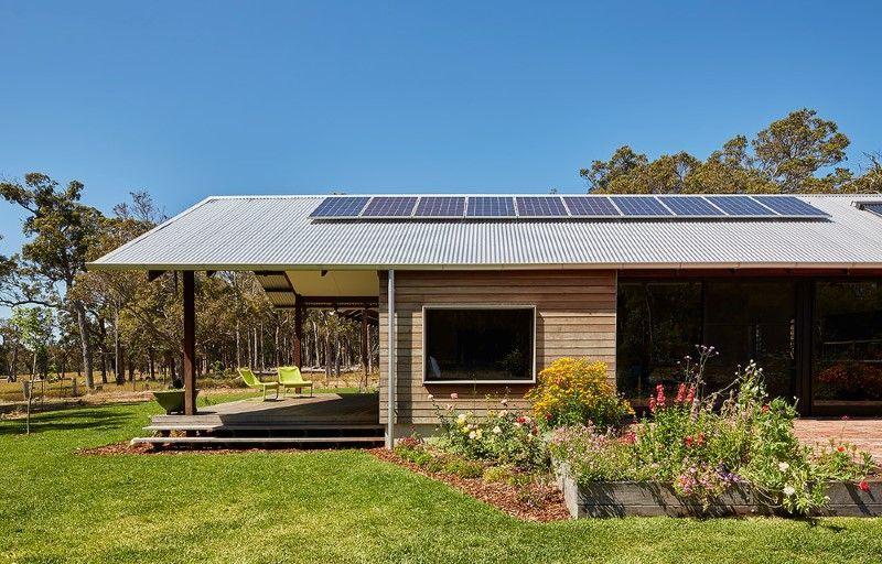 Modern Australian Farm House With Passive Solar Design House Plans Australia Solar Design Modern Farmhouse