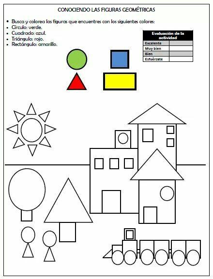Conociendo las figuras geom tricas pensamiento for Las formas geometricas