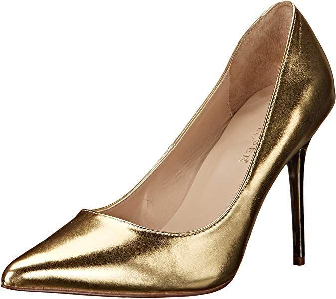 b0e2988b766 Pleaser Classique 20, Zapatos de Tacón para Mujer, Dorado (Gold Met Pu)