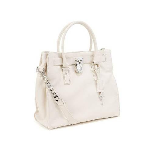 Michael Kors Hamilton Large Tote In White Handbags Michael Kors Handbag Stores Michael Kors Hamilton