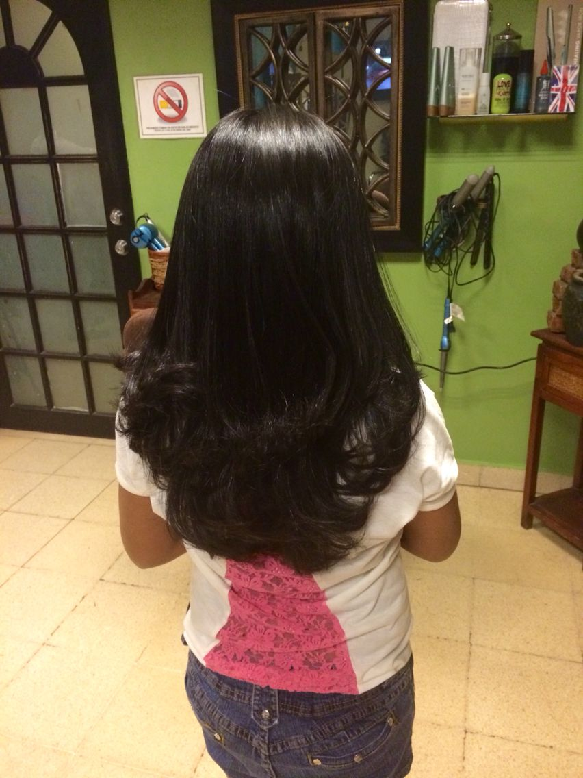 El respeto delicado Manchuria  Alisado de cabello para niña   Hair styles, Long hair styles, Beauty