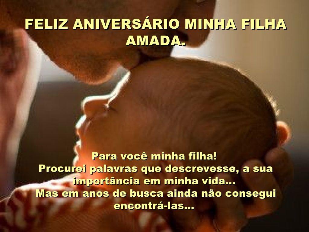 Mensagem De Aniversario De Um Ano Para Filho: Feliz Aniversario Minha Filha By Mensagens Virtuais Via
