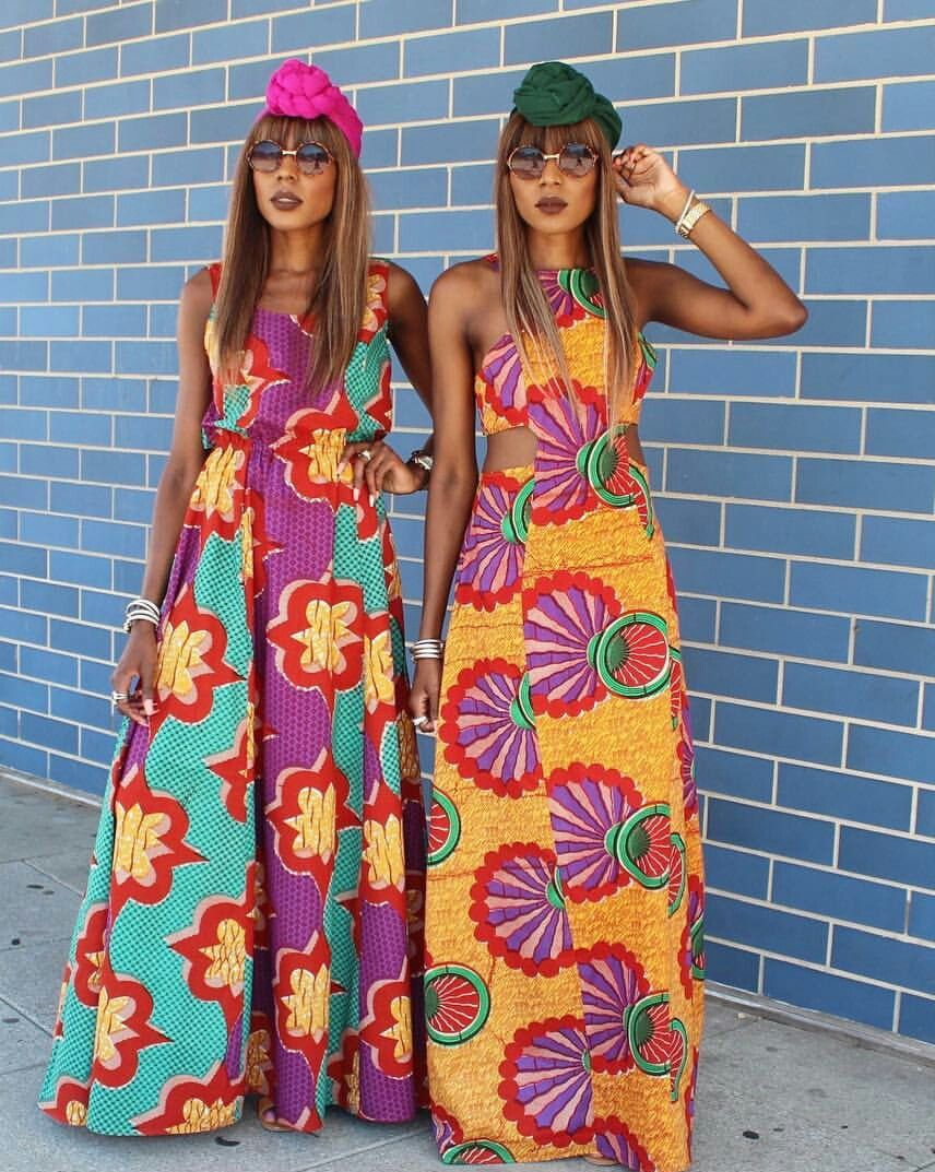 African print dresses for weddings  Pin by Soljurni on Afrocentric wear  Pinterest  African print