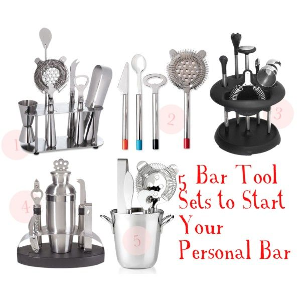 5 Bar Tool Sets to Start Your Personal Bar | Haute Cocktail