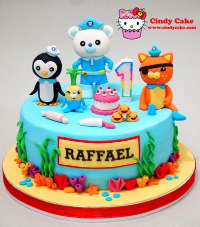Octonauts Birthday Cake by Cindy Cake Tortas Infantiles