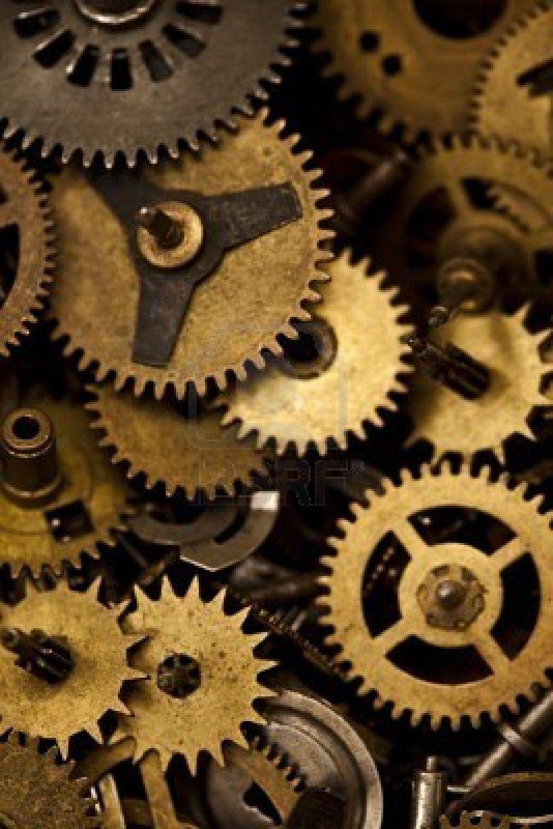 Macro Detail Of Gears In 2019 Wheels Mechanical
