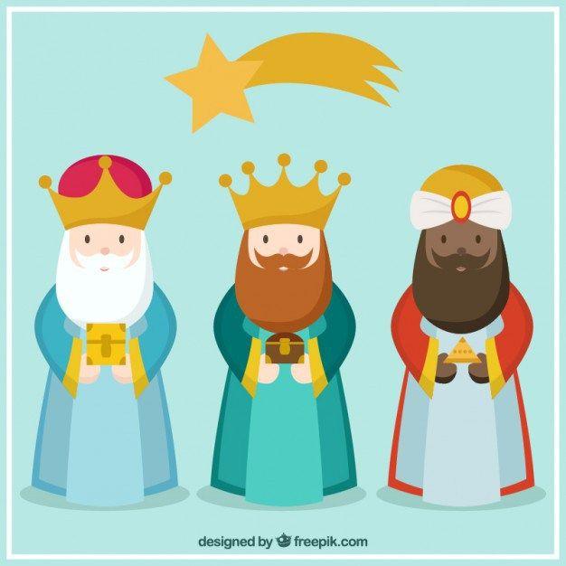 Imagenes Tres Reyes Magos Gratis.Descarga Vectores Gratuitos Con Los Tres Reyes Magos Bajate