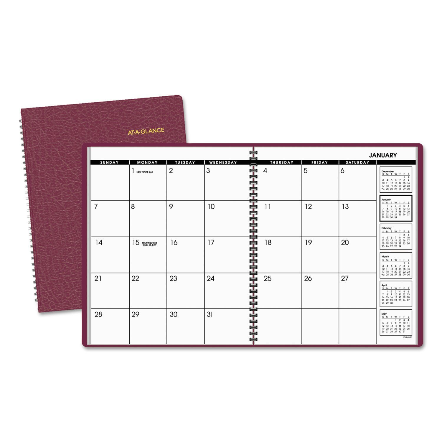 Monthly Planner 11 X 8 7 8 Winestone 2020 2021 Monthly