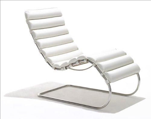 Chaise Lounge by Mies van der Rohe Designed furniture along time - ausergewohnliche relax liege hochster qualitat