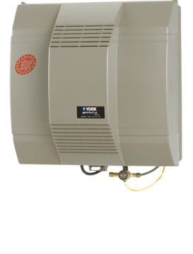 York Whole House Fan Powered Humidifiers Built In Fan Provides Air Improvement Across The Water Panel And Into The Conditioned Air Aireone Hv Heating Repair