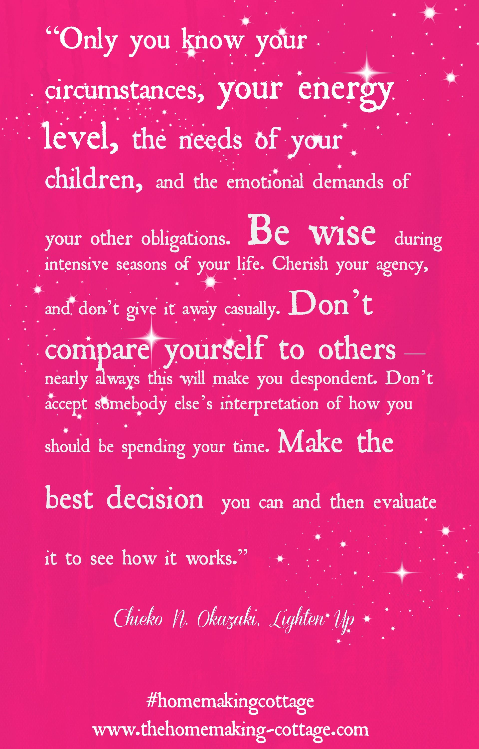 Cherish Your Life Quotes Make The Best Decision Quote  Inspirational Quotes  Pinterest