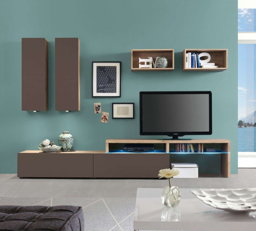 Amsterdam Wall Unit Combination 15973 By Creative Furniture