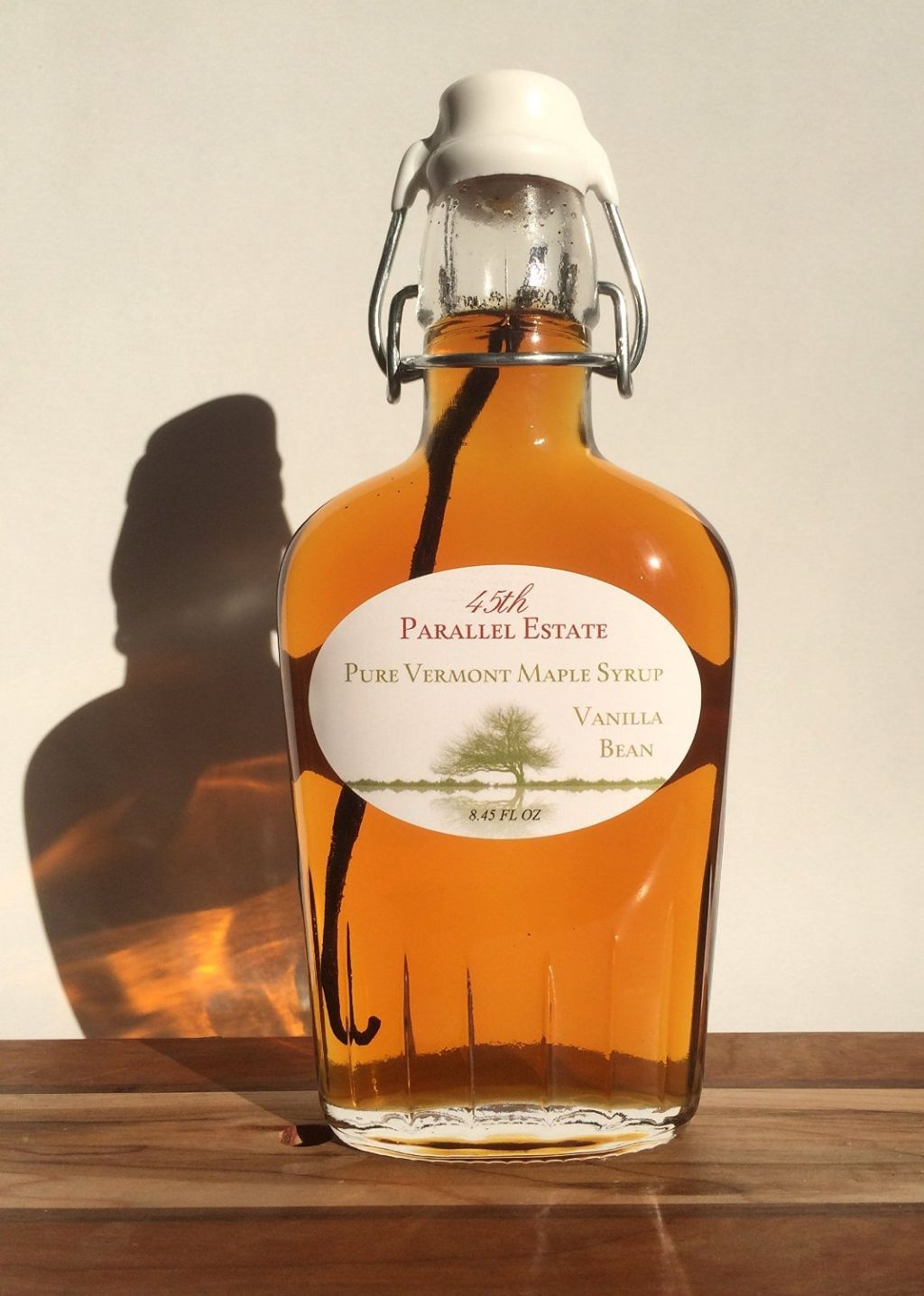 45th Parallel Estate Pure Vermont Maple Syrup Vanilla Infused