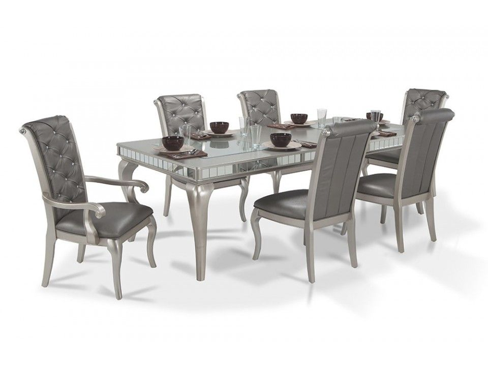 Diva 7 Piece Dining Set Minimalist Dining Room Country Dining Rooms Bob S Discount Furniture