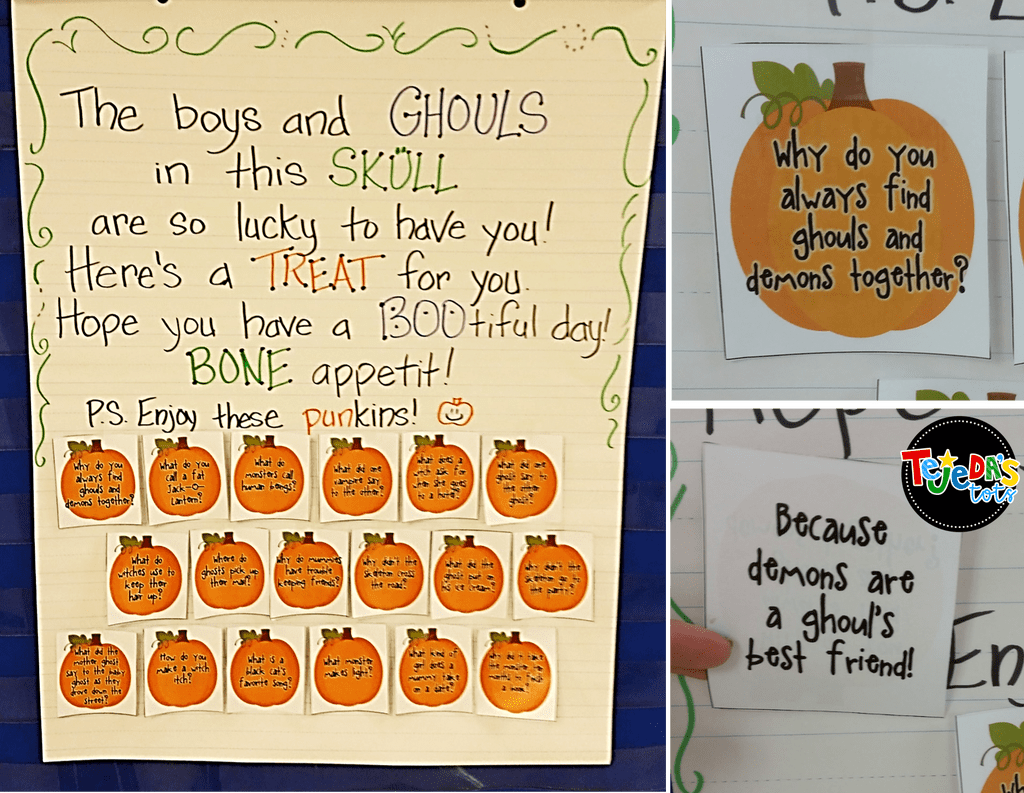 Pumpkin Math Poem For Counting And Ordering Numbers
