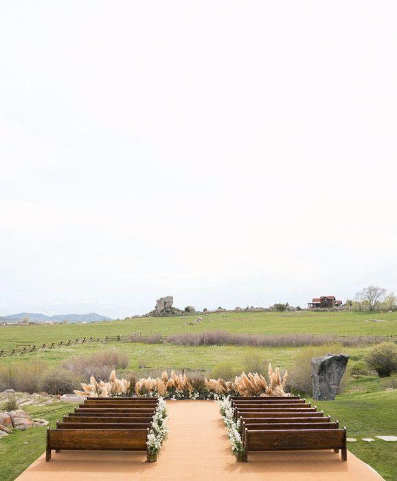 Oak Arbor Reception: Blaine Bowen And Jordan Jakubov's Magical Ranch Wedding