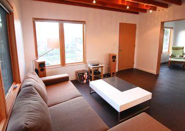chezerbey living + dining - modern - living room - seattle - Studio Zerbey