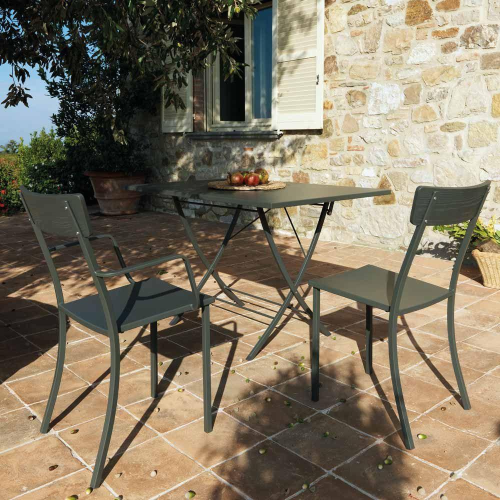 Gartentisch Reno Metall Gartentisch Tisch Und Bistro Stuhle
