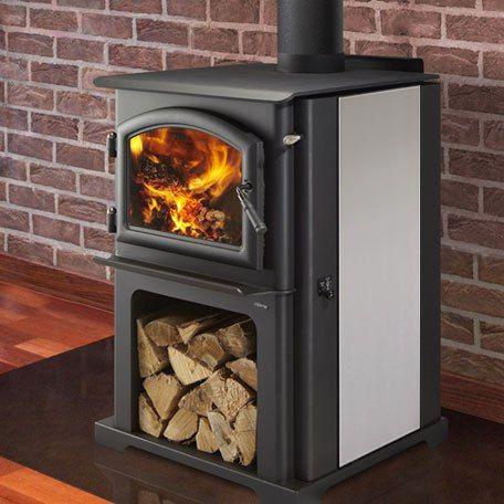 Quadrafire Discovery I Freestanding Wood Stove Wood Stove Wood Fireplace Quadra Fire Wood Stove