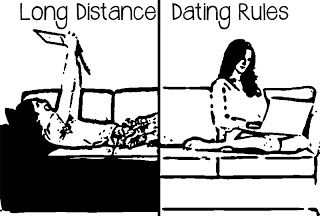 long distance dating rules