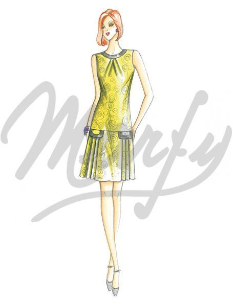 Marfy Collection 2016/2017 :: Sewing pattern S855 - | pattern making ...