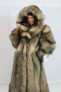 Images of Raccoon Fur Coat - Reikian