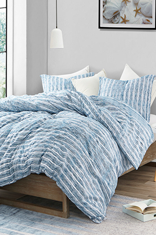 True Twin Xl Sized Dorm Comforter Aura Blue Designer College Bedding Made With Ultra Soft Microfiber Material Dorm Comforters Dorm Room Comforters Twin Xl Bedding