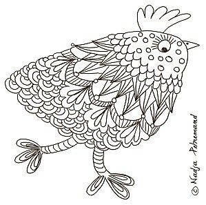 Printable Coloriages Paques