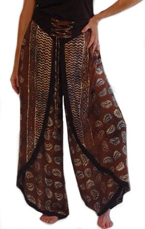 wrap around palazzo pants - Google Search | Clothing and accessories ...