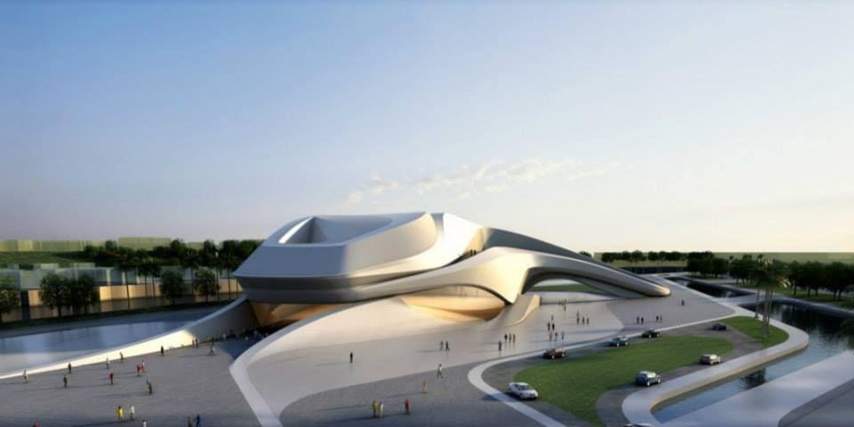Rabat Grand Theatre by Zaha Hadid Architects