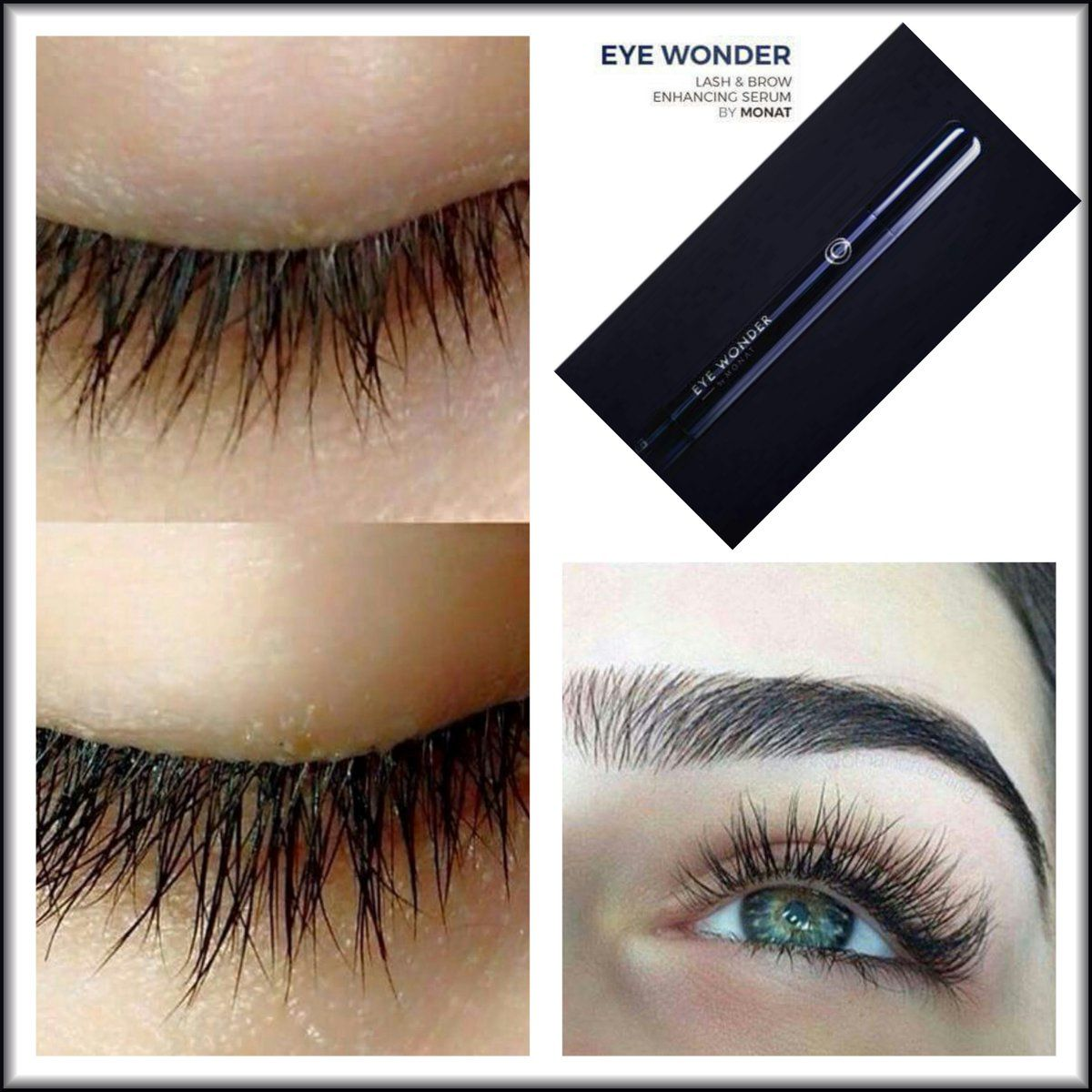 c0cafe9ba25 Monat Eye Wonder Lash & Brow Serum #nofalsies #Capixyl #growlashes ...