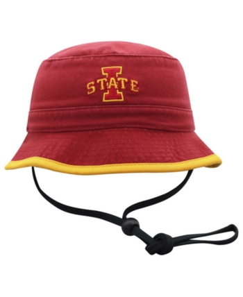 32bb9558f Top of the World Big Boys Iowa State Cyclones Shade Bucket Hat - Red ...