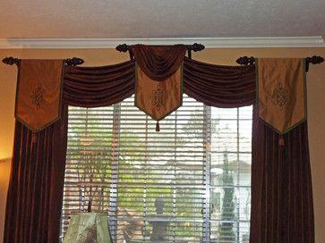 Custom Window Treatments Greater Houston Texas Area Traditional