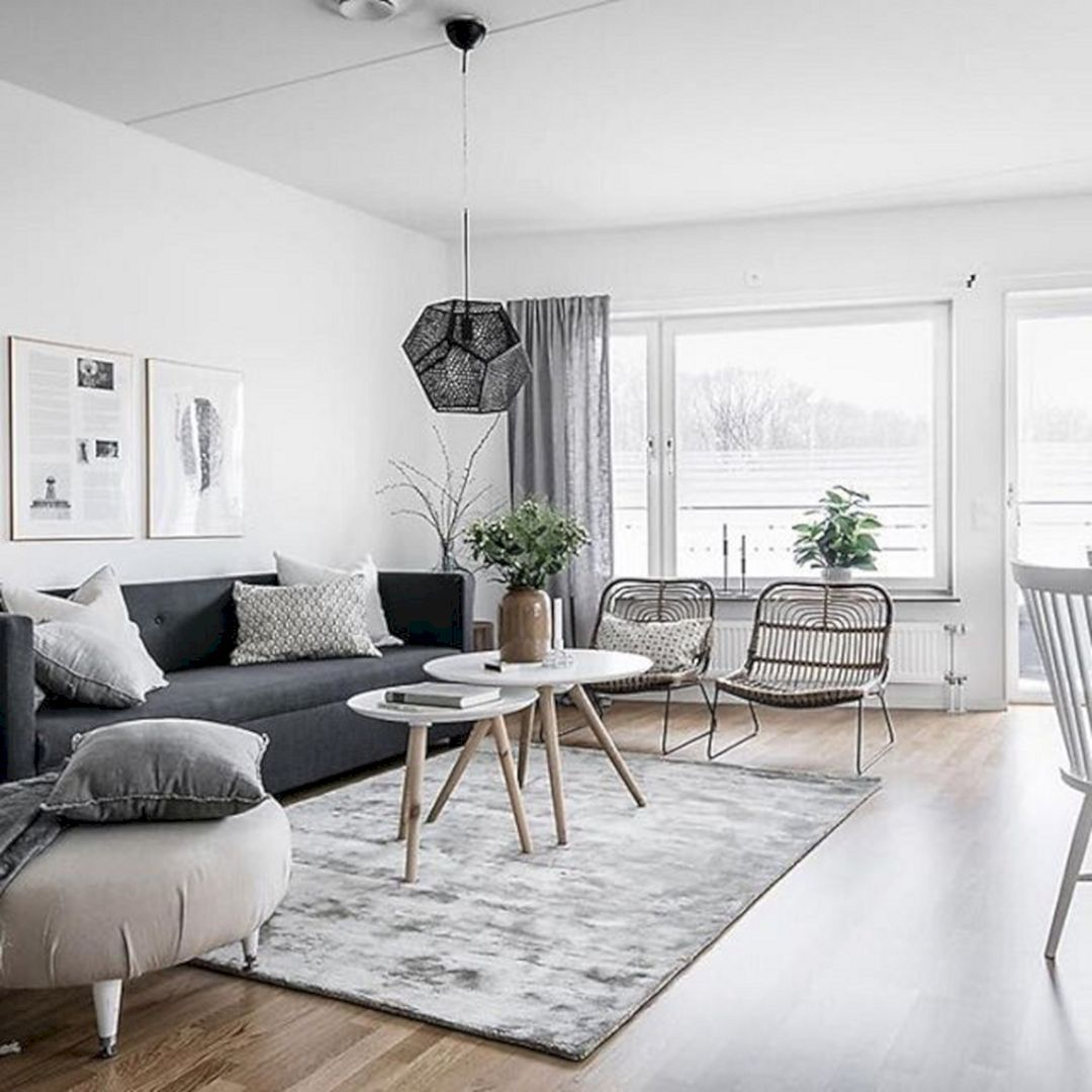 47+ Beautiful Nordic Living Room Design Ideas You Should Have It ...