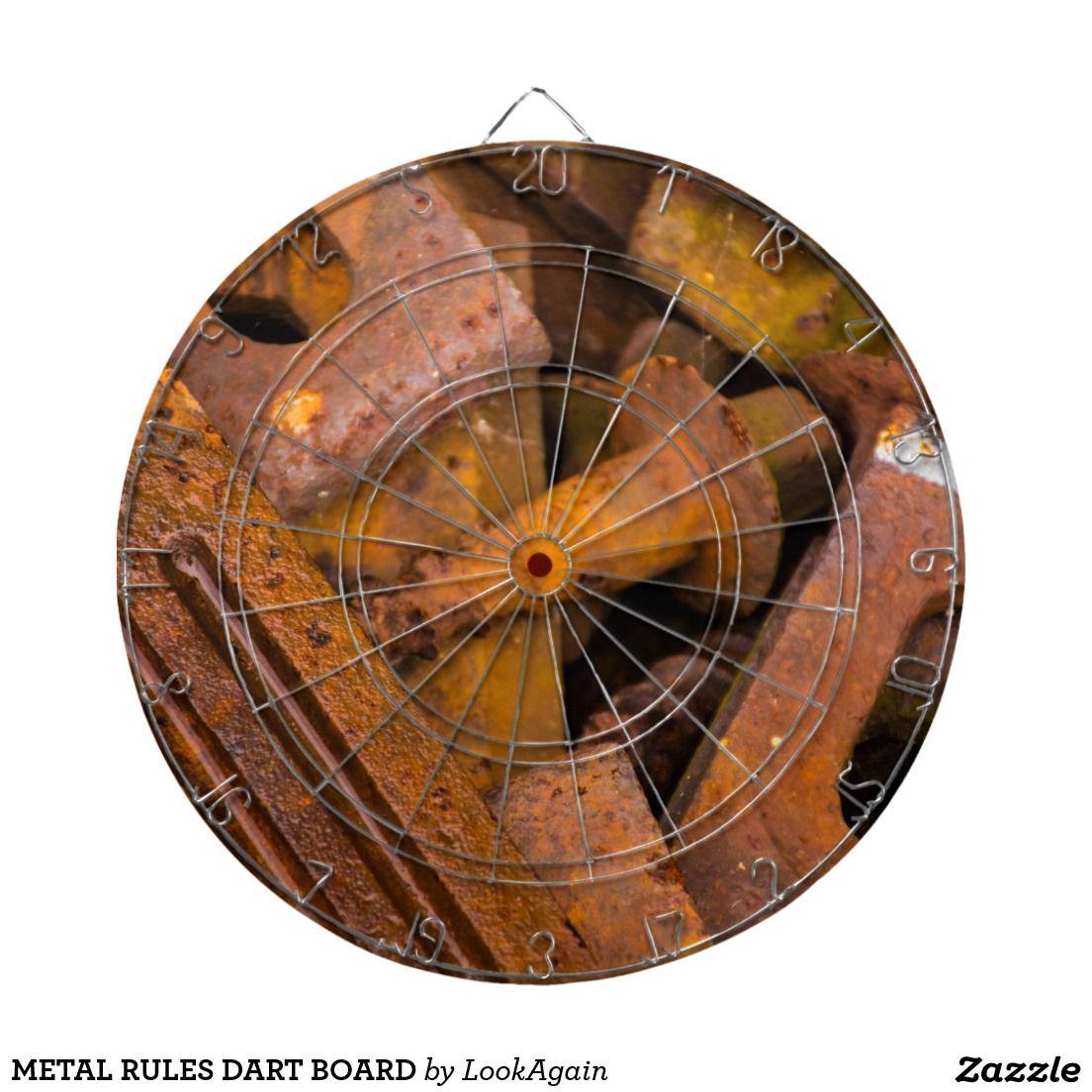 Metal Rules Dart Board Dart Board Darts And Metals