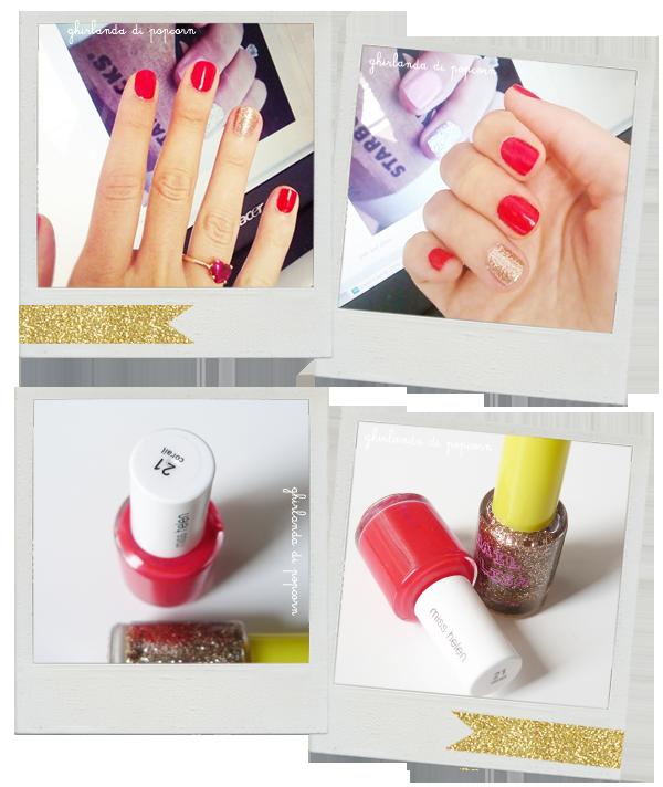xmas nail polish :)
