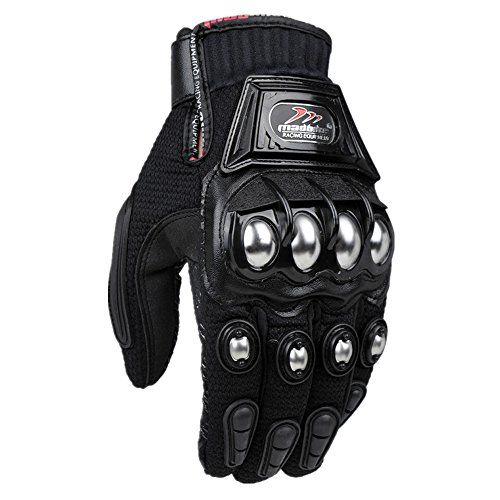 Kids Chidrens Boys Girl Red Motorbike Motorcycle Hard Knuckle Protective Safety Rider Biker Racing Safety Glove