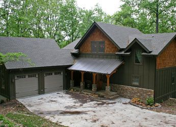 The garage by timberframe houseplans post and beam house for Post and beam garage plans