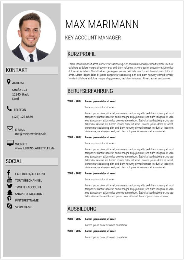 template cv latex ingenieur
