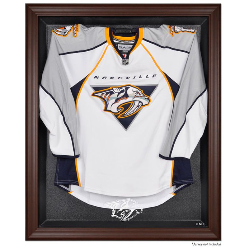 Nashville Predators Fanatics Authentic Brown Framed Logo
