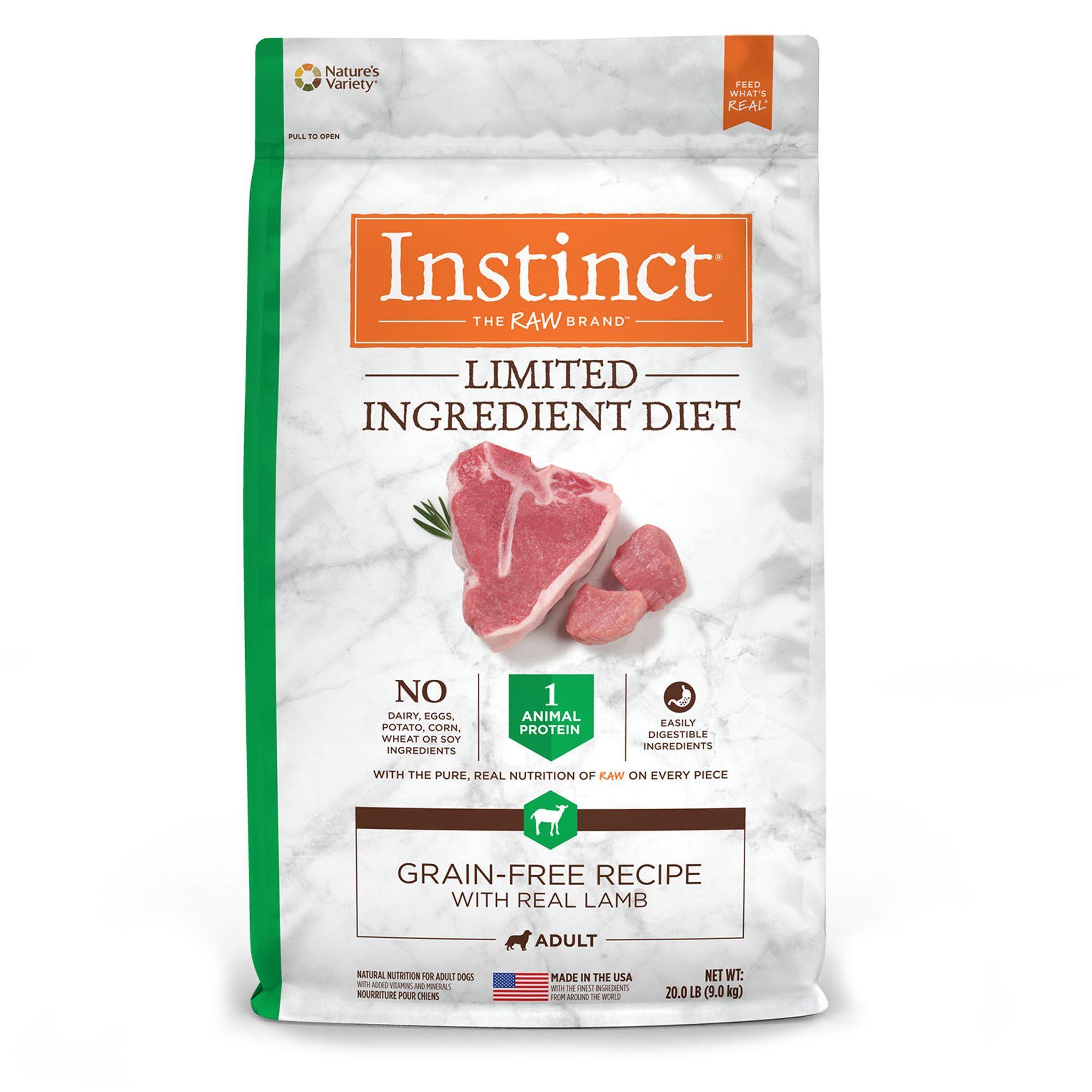 Nature S Variety Instinct Limited Ingredient Diet Adult Dog Food