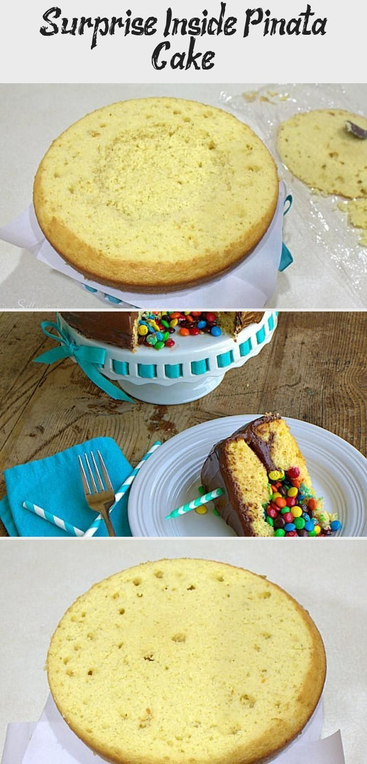 Photo of Surprise Inside Pinata Cake, step by step tutorial on how to make a big WOW at y…